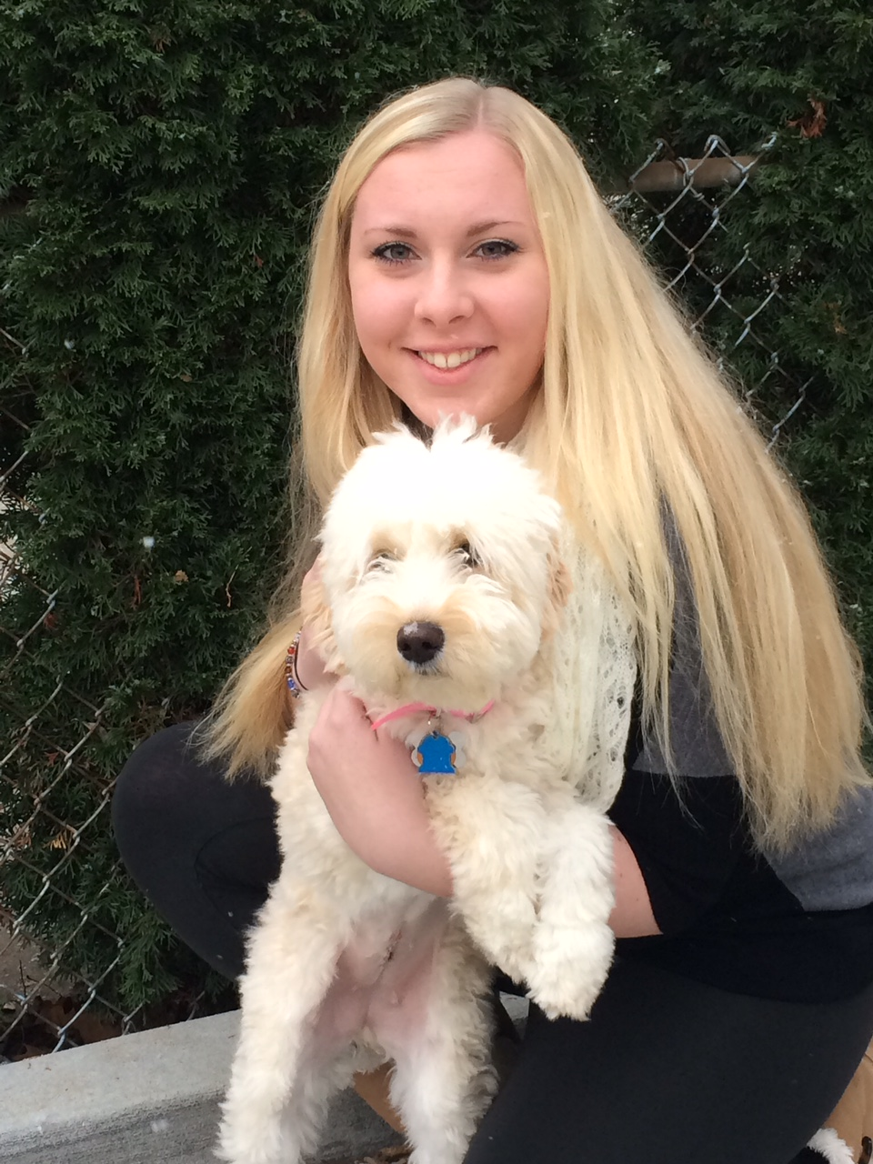 """We purchased one of Maggie's pups. Layla is the best dog we've ever had the pleasure of caring for!""  Susan V.- Chicago, IL"