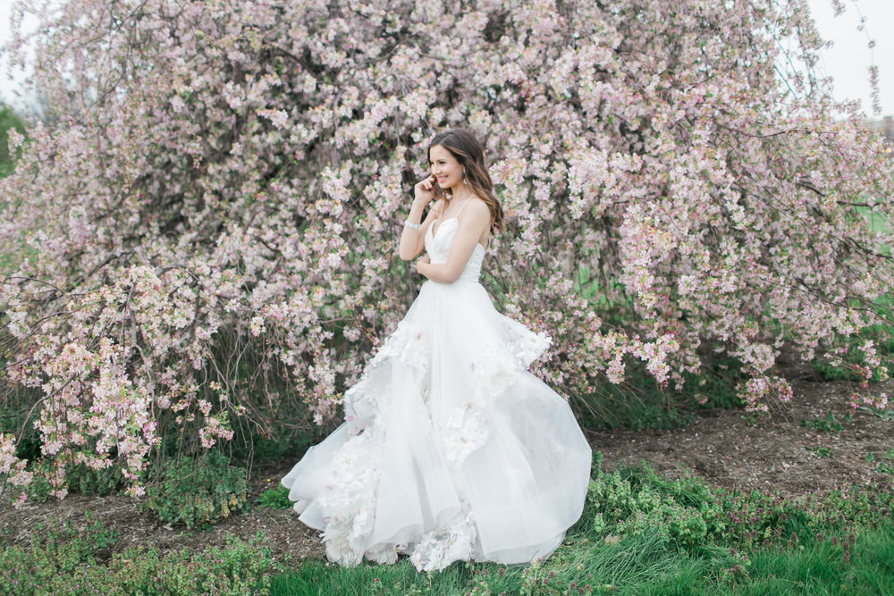 Paige Gown || Photo by Rachael McCall Photography || Styled Shoot