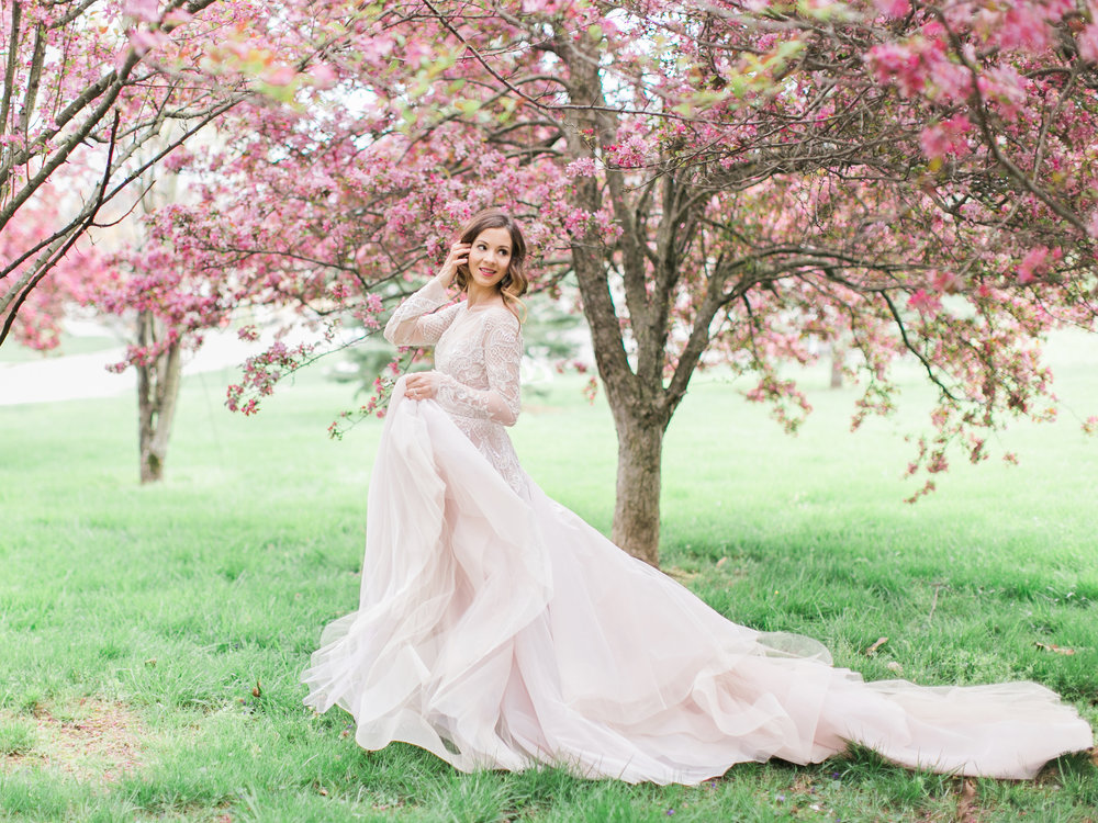 Hayley Gown || Photo by Rachael McCall Photography || Styled Shoot