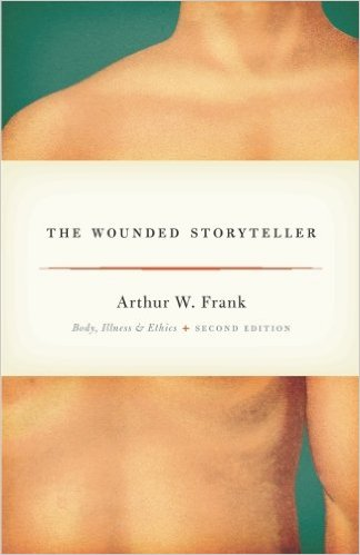 A.W. Frank, The Wounded Storyteller: Body, Illness, and Ethics. Chicago: The University of Chicago Press, 1995. This book remains one of the most cited works on illness experience and narrative ethics; it has been translated into Japanese. It has been anthologized in several of the best-selling medical sociology texts, including those edited by Peter Conrad and Kathy Charmaz. The framework of the restitution, chaos, and quest narratives of illness has been used in numerous articles and books and become part of the vocabulary of medical sociology and humanities in medicine.