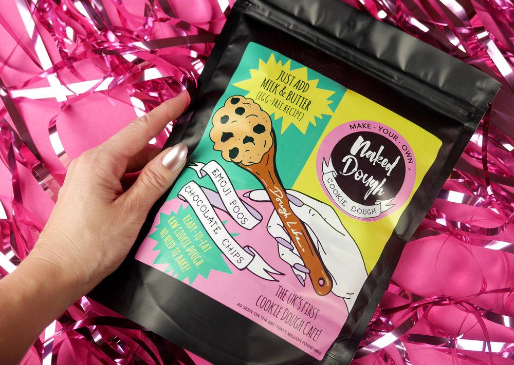 Label Design for Naked Dough
