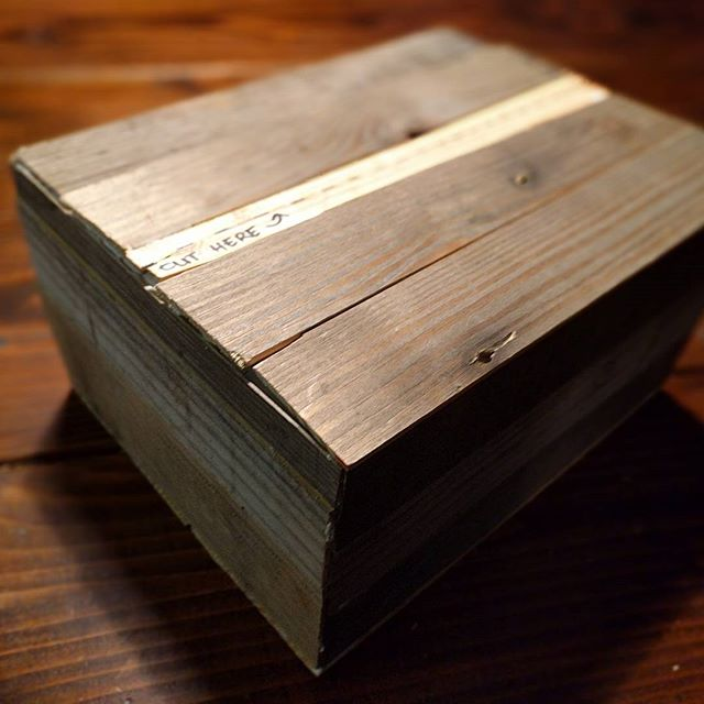 Packages going out in anticipation of the new workshop opening. #workshop #reclaimedwood #farmtable  #smallbusiness