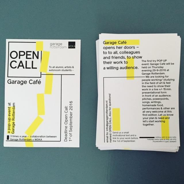 Garage Café - open call: work presentationWalking Around Headless (Forever)Autumn 2016More info..