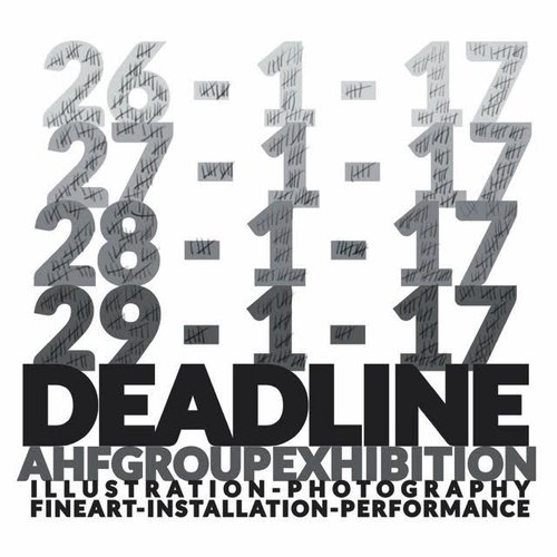 DEADLINE - Group exhibition by AHF January 26, 2017Read: Curator's review