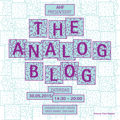 The Analog Blog XL - Organization and production Spring 2015More info...