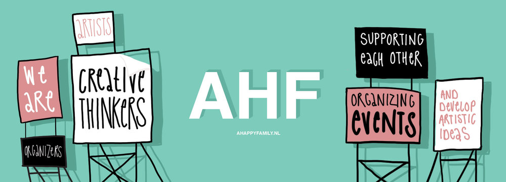 2year Anniversary AHF x Paardcafé - Exhibition: several Members of the network, opening event with live acts.