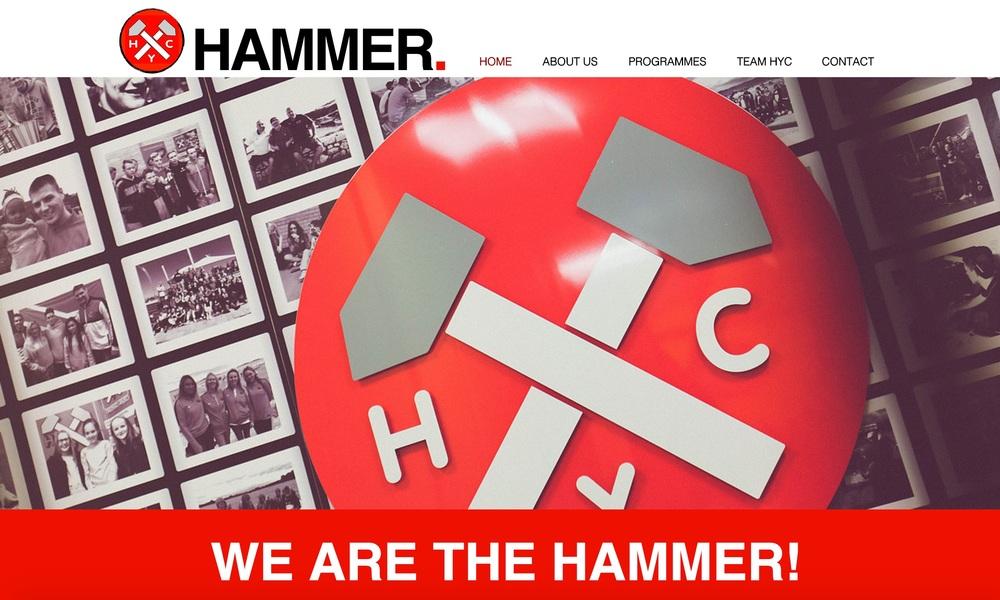 Hammer Youth Club - Website