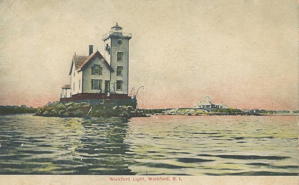 WICKFORD LIGHTHOUSE (DEMOLISHED)