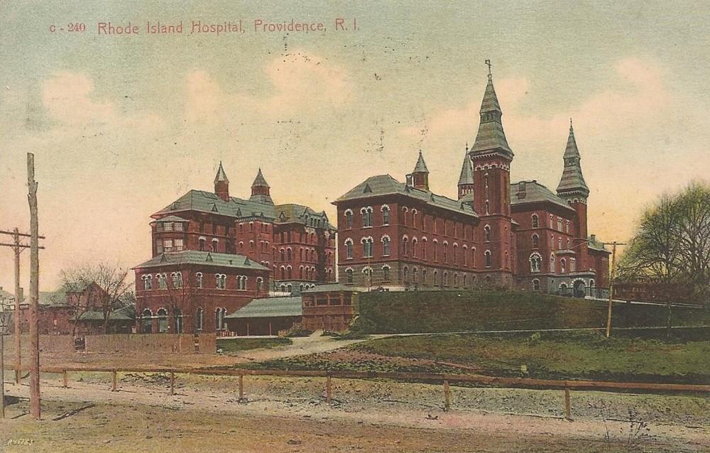 THE OLD RHODE ISLAND HOSPITAL - 1901