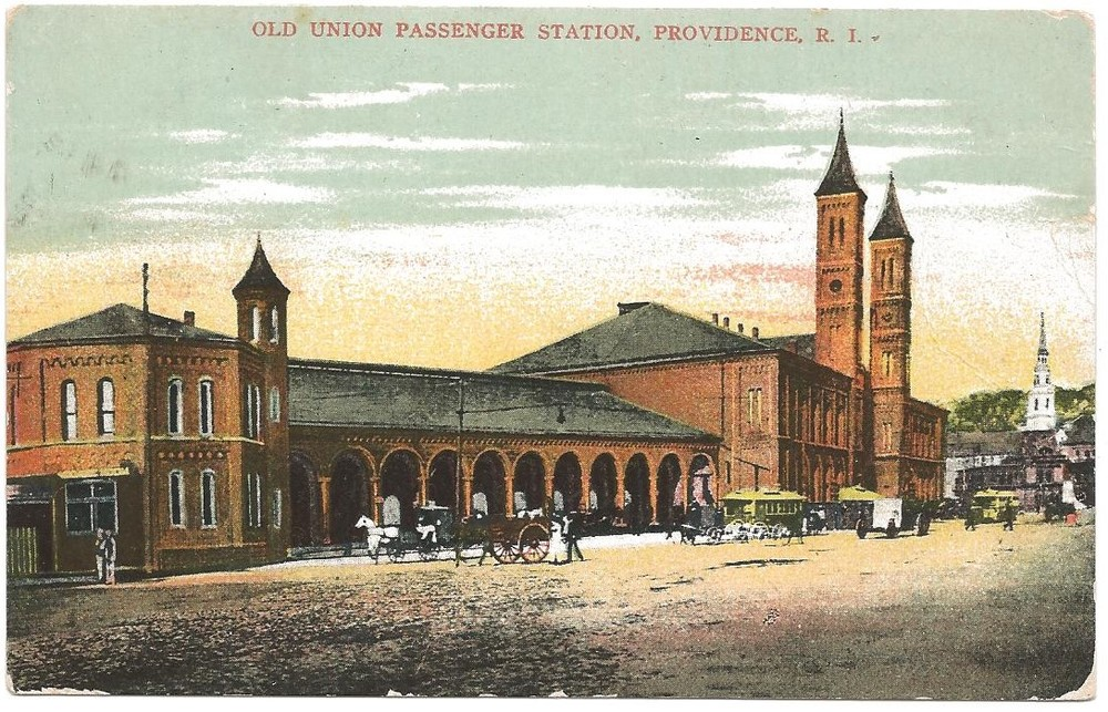 FORMER TRAIN STATION IN PROVIDENCE - 1901