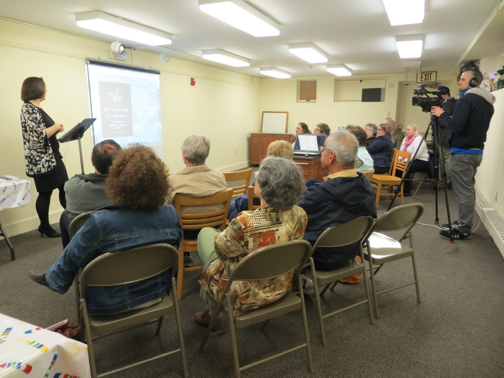 Presentation at the Richards Memorial Library, North Attleboro, MA, April 20, 2017