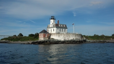 Rose Island Lighthouse  Photo courtesy of Rose Island Lighthouse Foundation