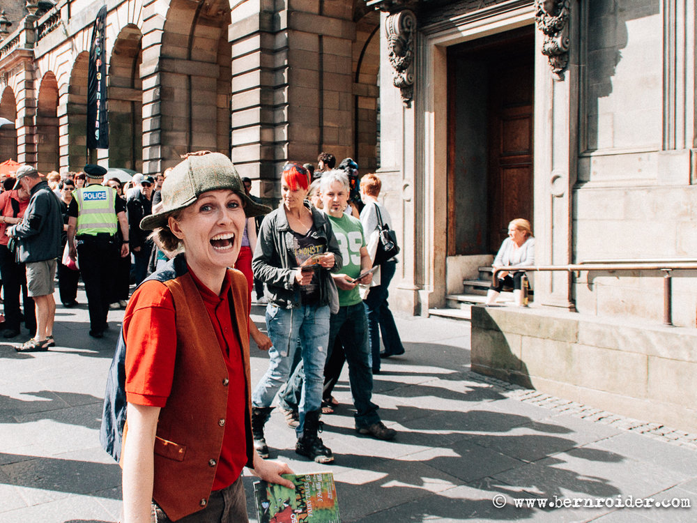 Streetphotography, Fringe, Festival, Edinburgh, Scotland, UK