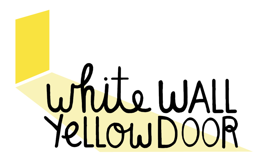 White Wall Yellow Door
