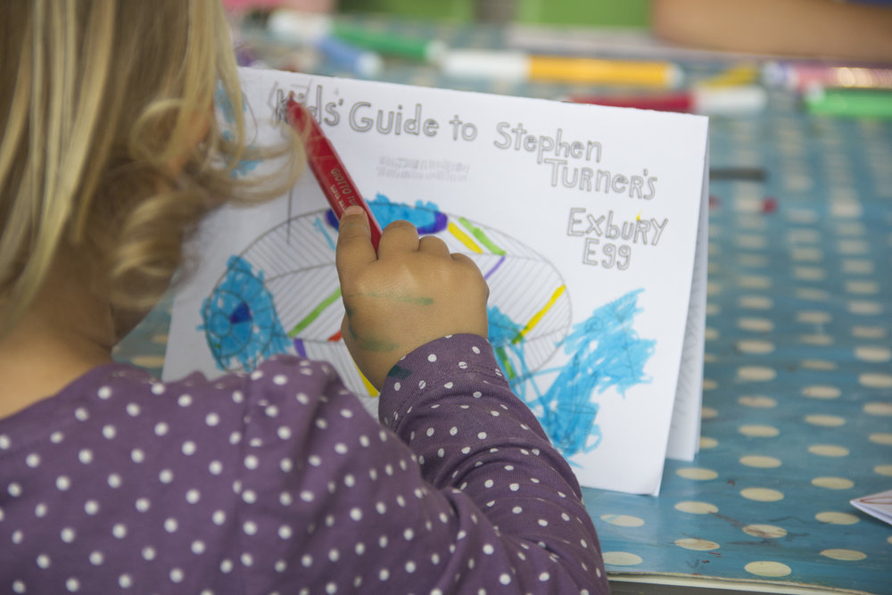 Kids Guide to Stephen Turner's Exbury Egg, Aspex Gallery, Portsmouth, June 2017. Photo Credit: Alessandra Rinaudo