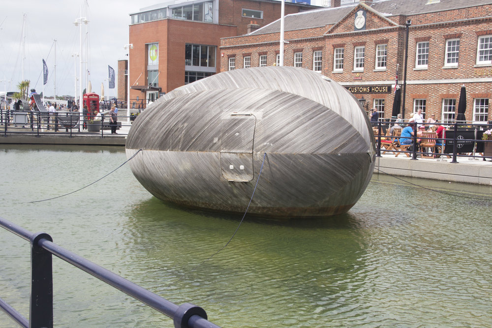 Kids Guide to Stephen Turner's Exbury Egg, GunWharf Quay, Portsmouth, June 2017. Photo Credit: Alessandra Rinaudo