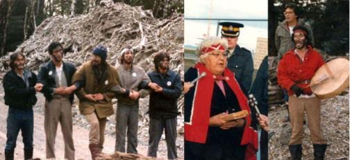 The much publicized 1985 stand-off at Lyell Island brought positive change to the logging of Gwaii Haanas.