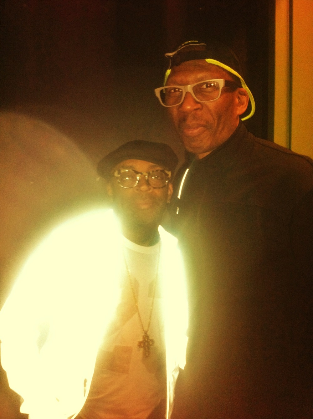 Event Producer for Chicago International Movies and Music Festival. Spike Lee and Public Enemy founder Hank Shocklee at CIMM Fest 2015.