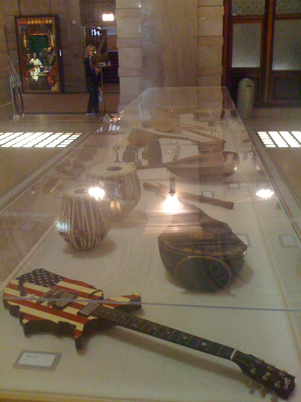 """Co-Producer, Co-Curator and Creator of the """"Worlds of Music"""" instrument exhibit at Chicago Cultural Center as part of World Music Festival 2010."""
