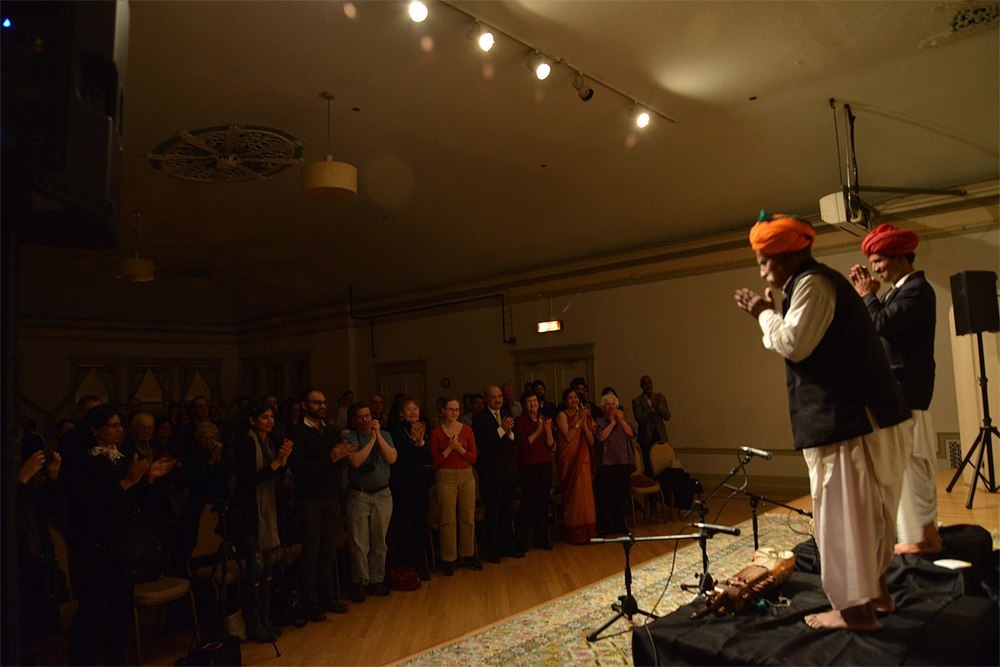 Event Producer for Kalapriya Center for Indian Performing Arts. 2012-2014. Rajasthani musician Lakha Khan in photo