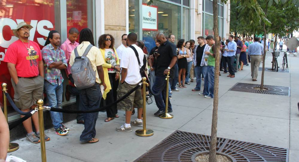 Producer and Co-Curator (with Questlove) for clients, Absolut and Flavorpill's Lunchbreak series Chicago. Line to get in at noon on a Thursday.