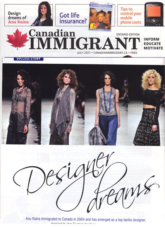 Anu Raina   Canadian-Immigrant