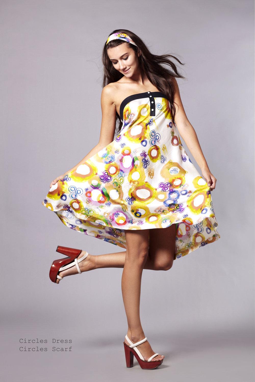 Anu Raina – Circle Dress   Chloe magazine