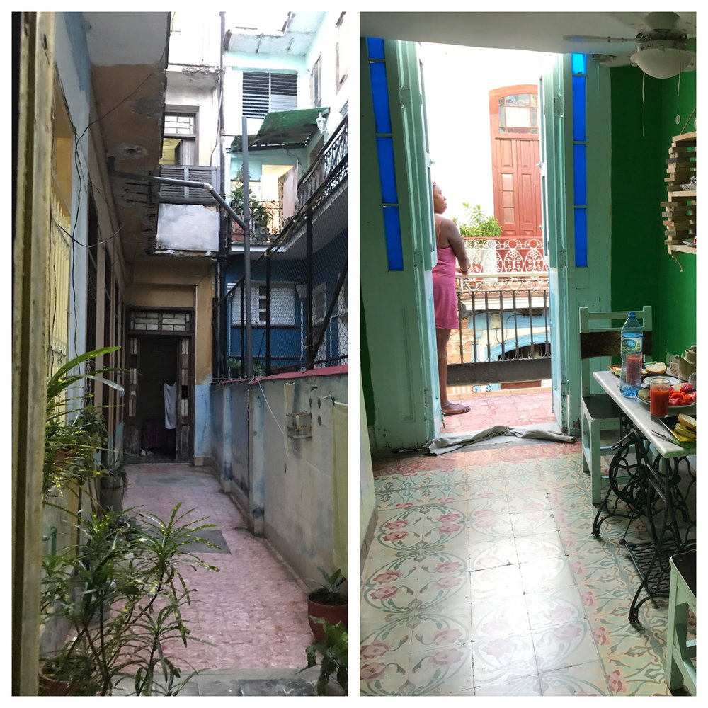 Our casa in Havana