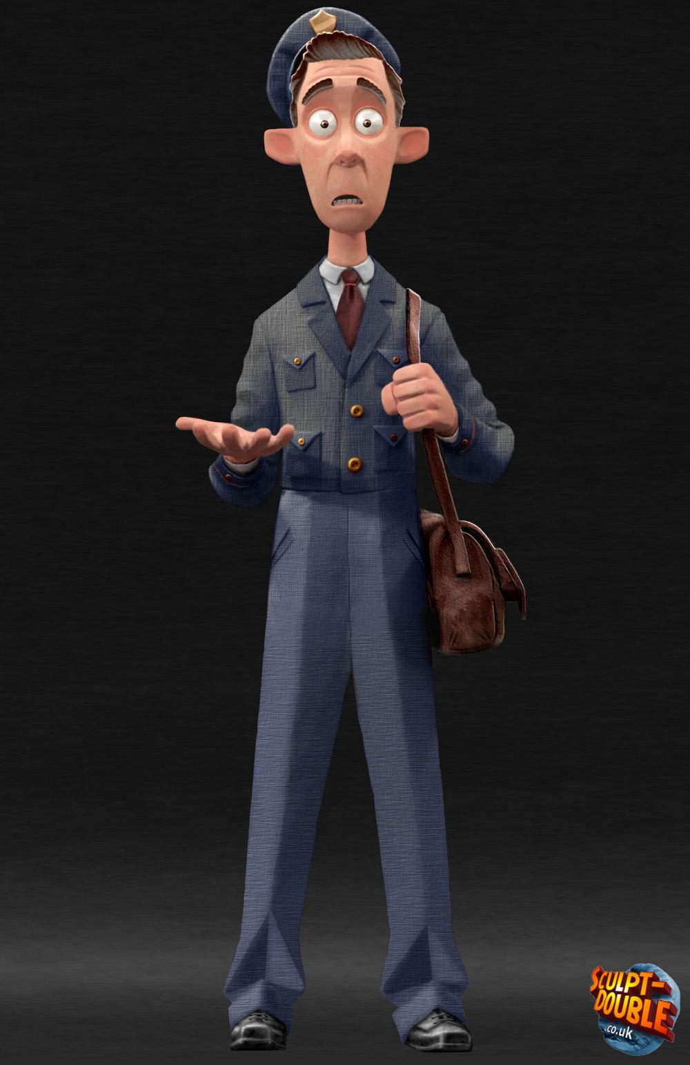 Mail Man Maquette01.jpg