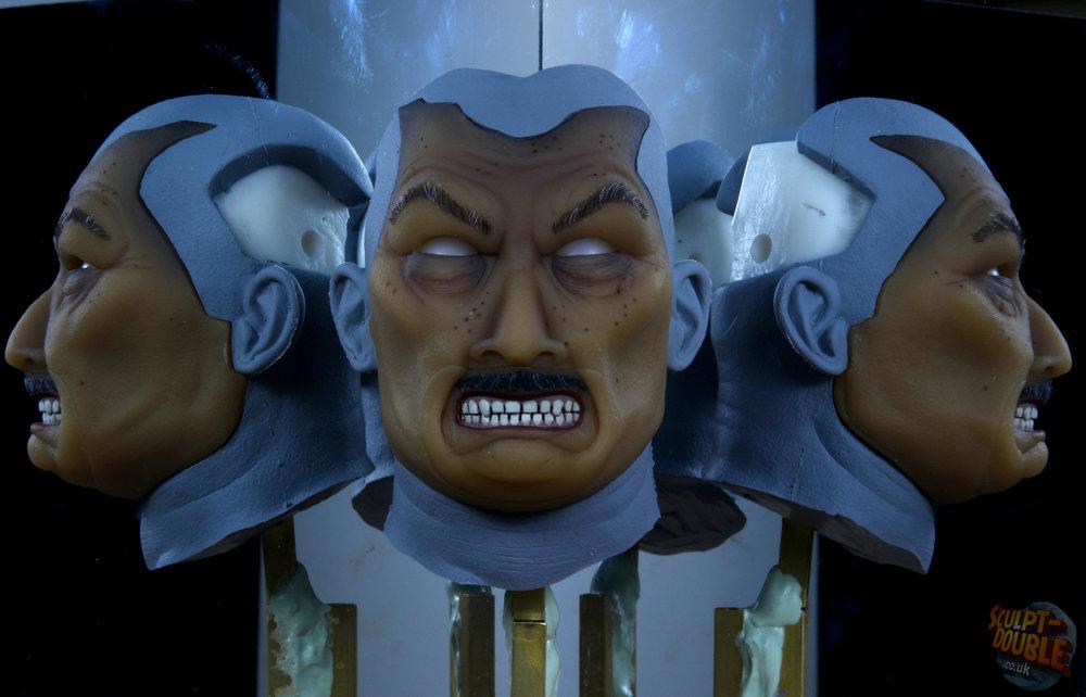 Mayor Kobayashi - face testing rig