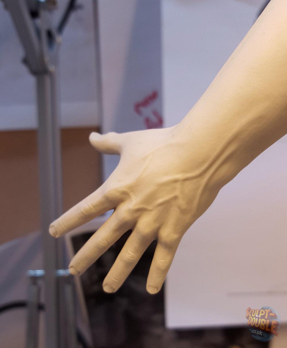 Mayor Kobayashi - Hand Sculpt