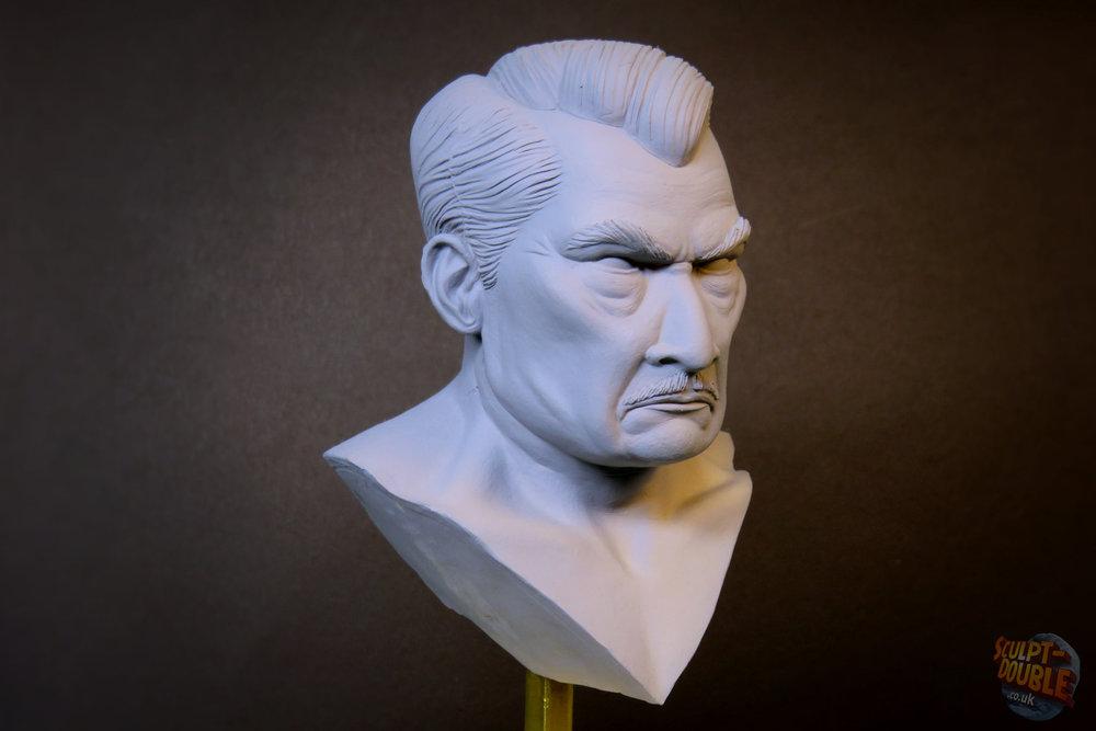 Mayor Kobayashi - Head Sculpt