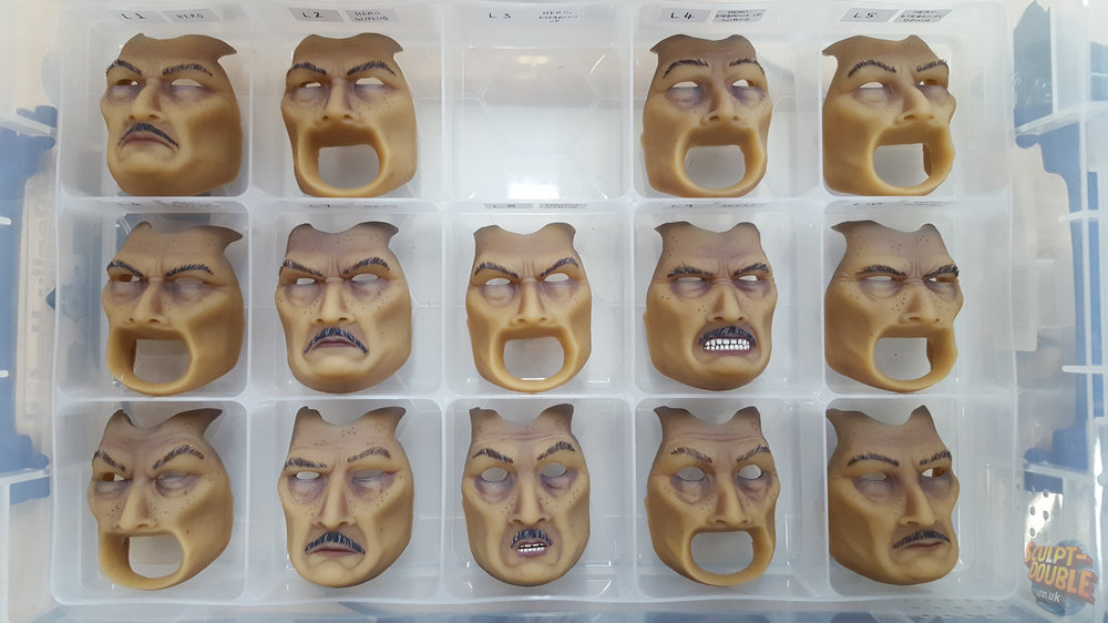 Mayor Kobayashi - Replacement Faces