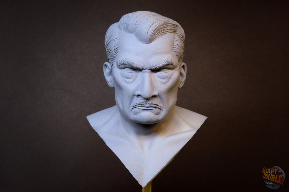 Mayor Kobayashi - Head Sculpt