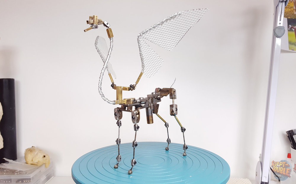 Flamingoat animation ball and socket armature.  By Nathan Flynn