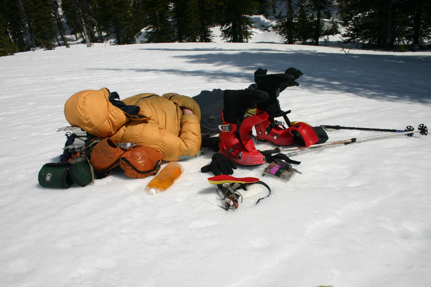 Break time in Crystalline Creek | IMAGE ©Troy Jungen