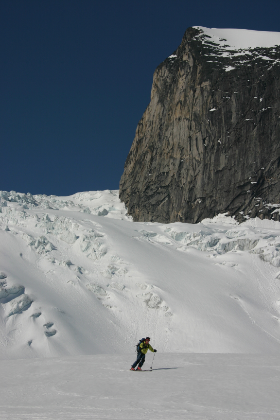 Last Run under Snowpatch Spire
