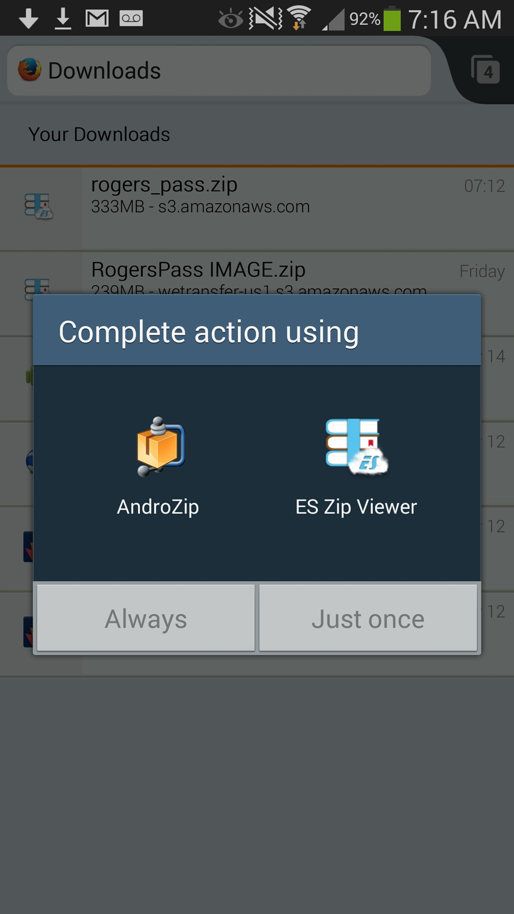 Image 5: Use your favourite zip utility to unzip the file.