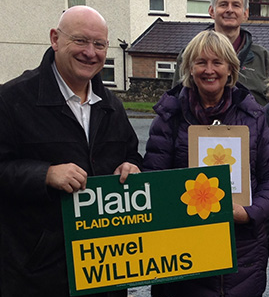 Hywel Williams MP, Parliamentary Leader, Plaid Cymru