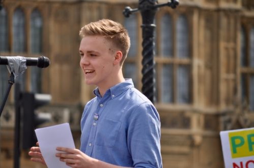 Owen Winter, 17, Member of Youth Parliament, Cornwall