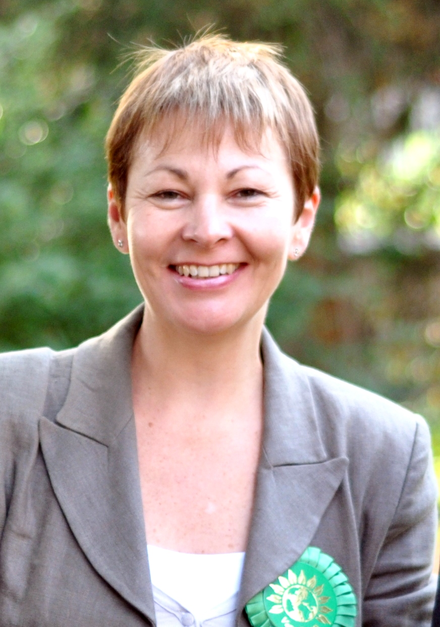 Caroline Lucas MP, Green