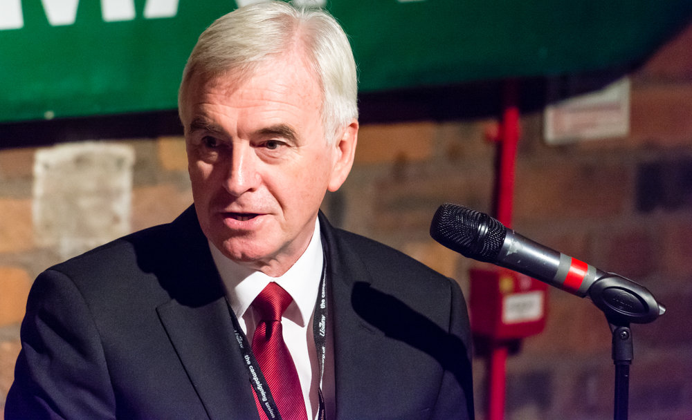 John McDonnell at the Conference Rally