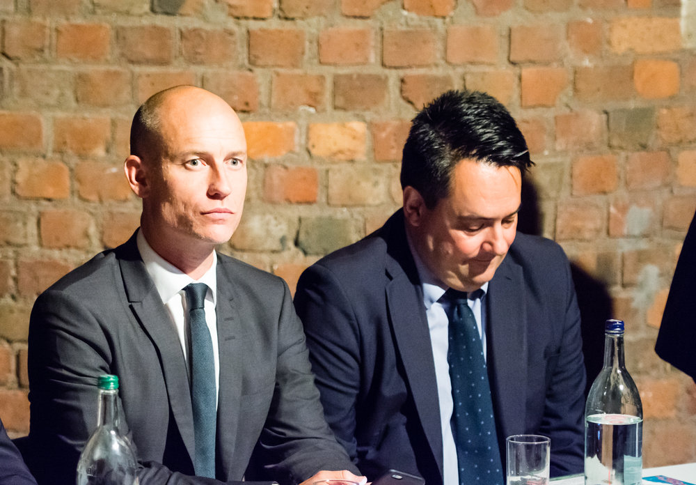 "Stephen Kinnock & Stephen Twigg at ""Time for Labour to Embrace PR"""