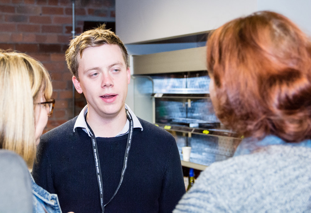 Owen Jones discussing support for PR with Labour Party members