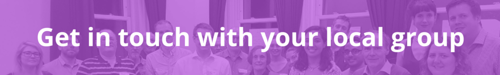 Get in touch with your local group Proportional Representation