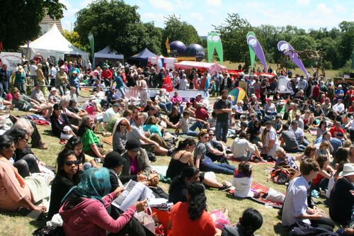 Join us in the sun for some festival vibes and real democracy!