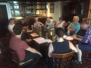MVM South West London in discussion.