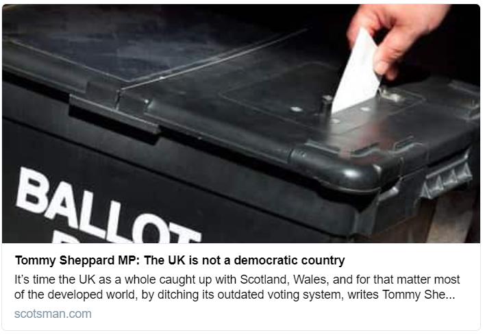 Tommy Sheppard MP op-ed, Scotsman