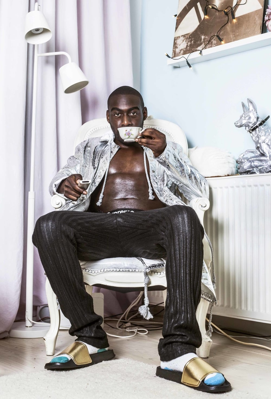 Photography by Vilain & Gai / Interview by Meda Ntumba / Production Tiziana Petruzzi / Designer pieces Nada van Dalen & Evan's Menswear