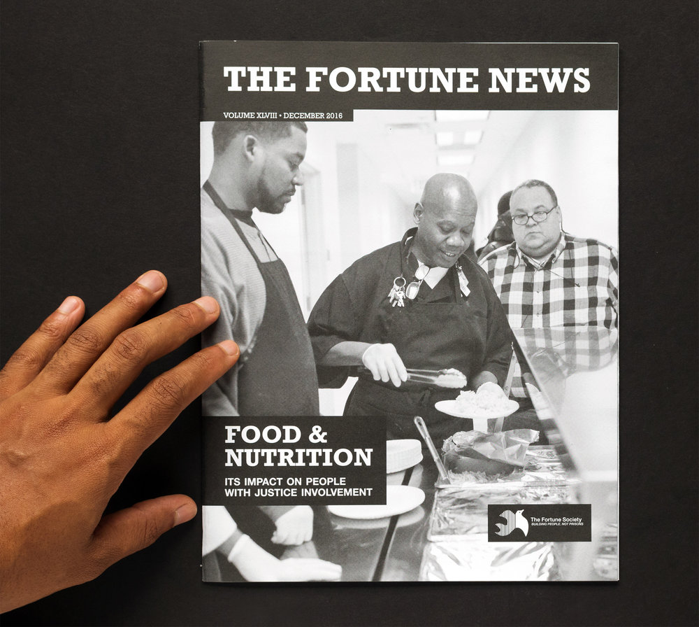 As their contracted digital marketing specialist, I assisted in writing, editing, and photographing The Fortune Society's December 2016 issue of The Fortune News.